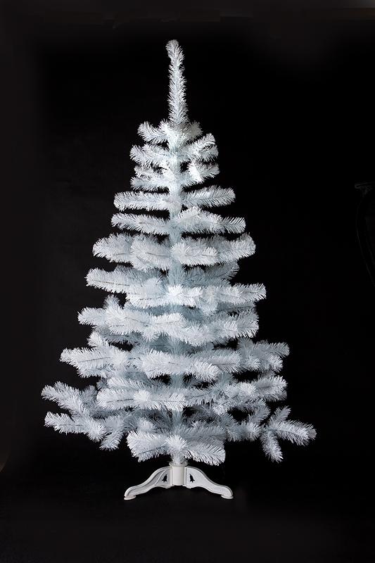 Umělý vánoční stromek Smrček bílý 110 cm