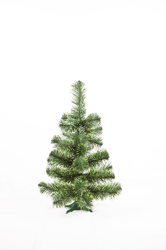 Umělý vánoční stromek Smrček východní se světle zelenými konci jehličí 60 cm
