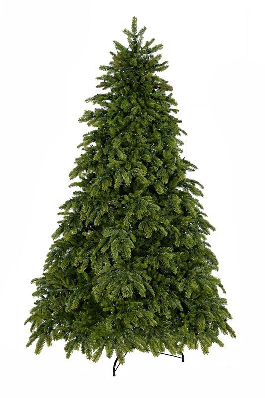 Umělý vánoční stromeček s 3D jehličím zahuštěný 240 cm