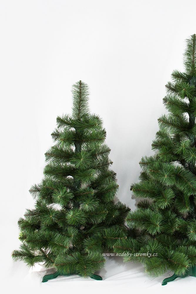 Umělý vánoční stromek Borovice Žilka De Lux 120 cm