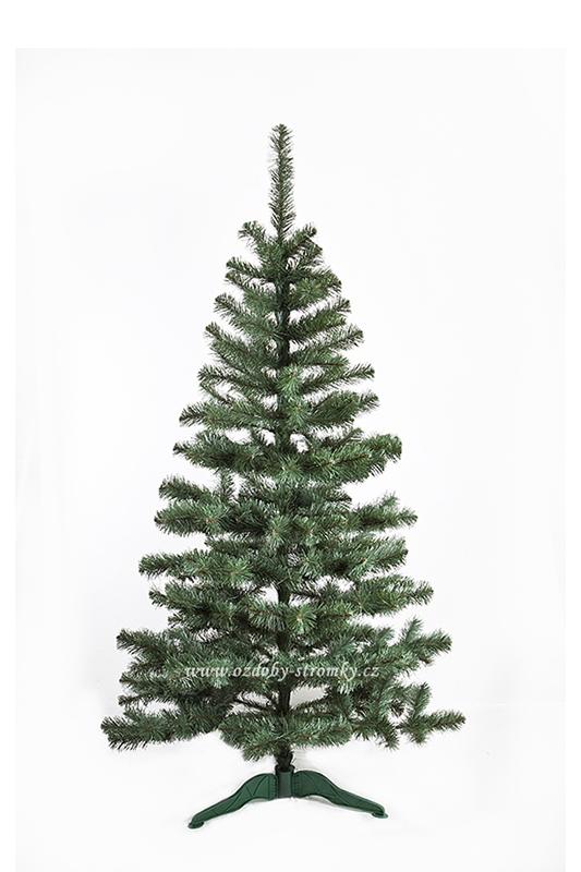 Umělý vánoční stromeček Jedle De Lux přírodní 150 cm