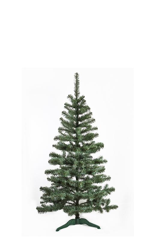 Umělý vánoční stromeček Jedle De Lux přírodní 100 cm