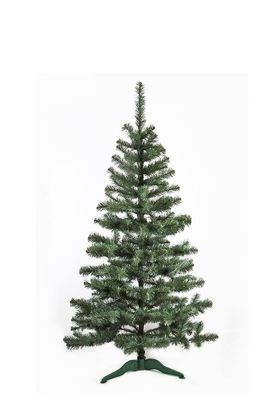 Umělý vánoční stromeček Jedle De Lux přírodní 120 cm