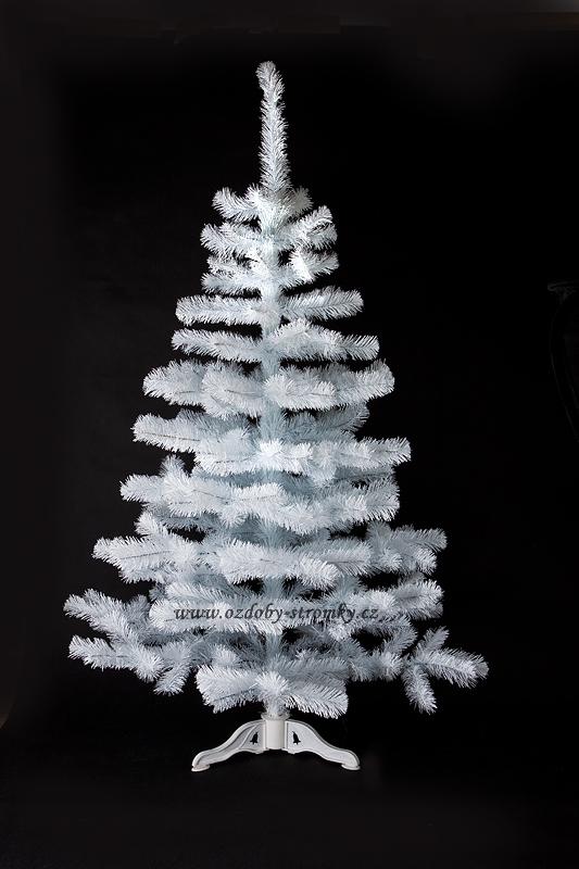 Umělý vánoční stromeček Smrček bílý 80 cm