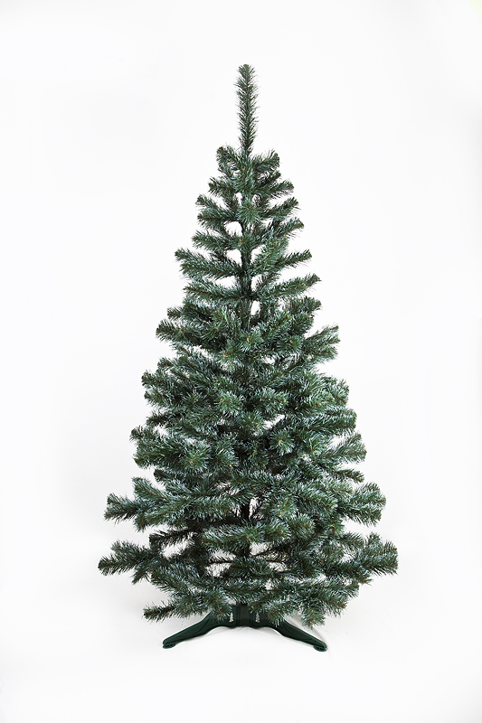 Umělý vánoční stromeček Jedle De Lux zasněžená 150 cm