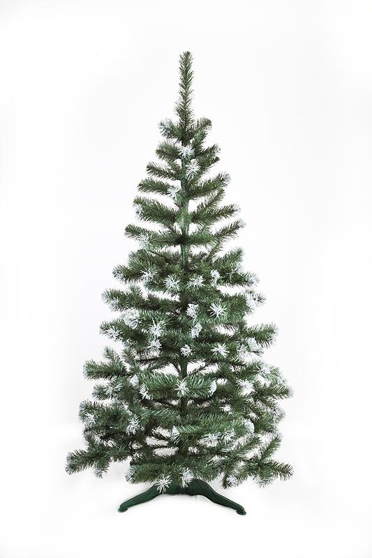 Vánoční stromek jedle De Lux se sněhem 190 cm