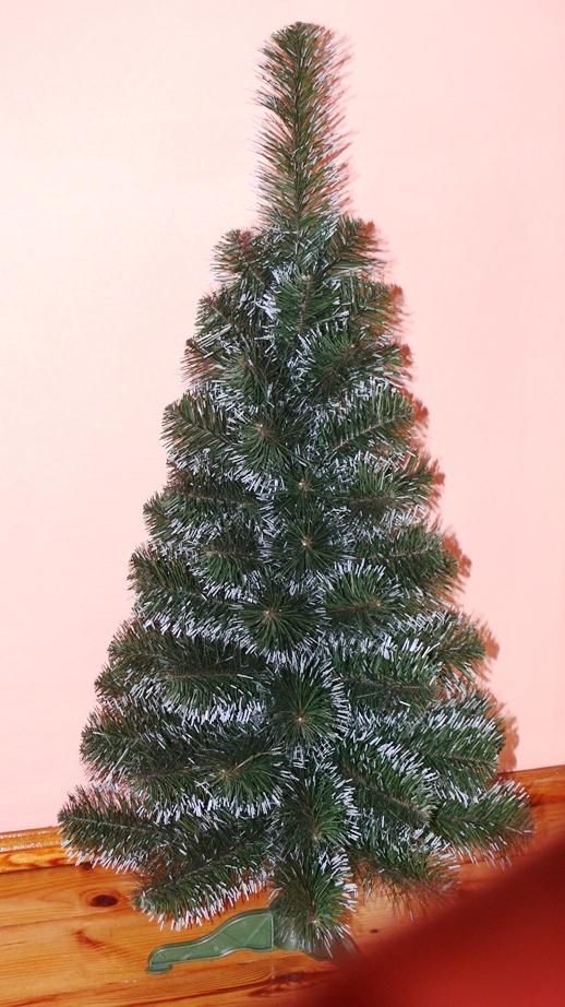 Umělý vánoční stromeček Jedle De Lux zasněžená 100 cm