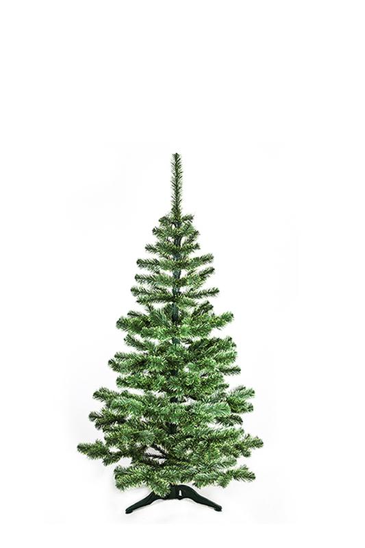 Umělý vánoční stromeček Smrček východní se světle zelenými konci jehličí 150 cm