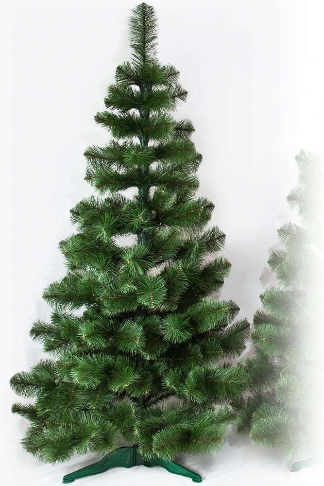 Umělý vánoční stromeček Borovice Žilka De Lux 220 cm